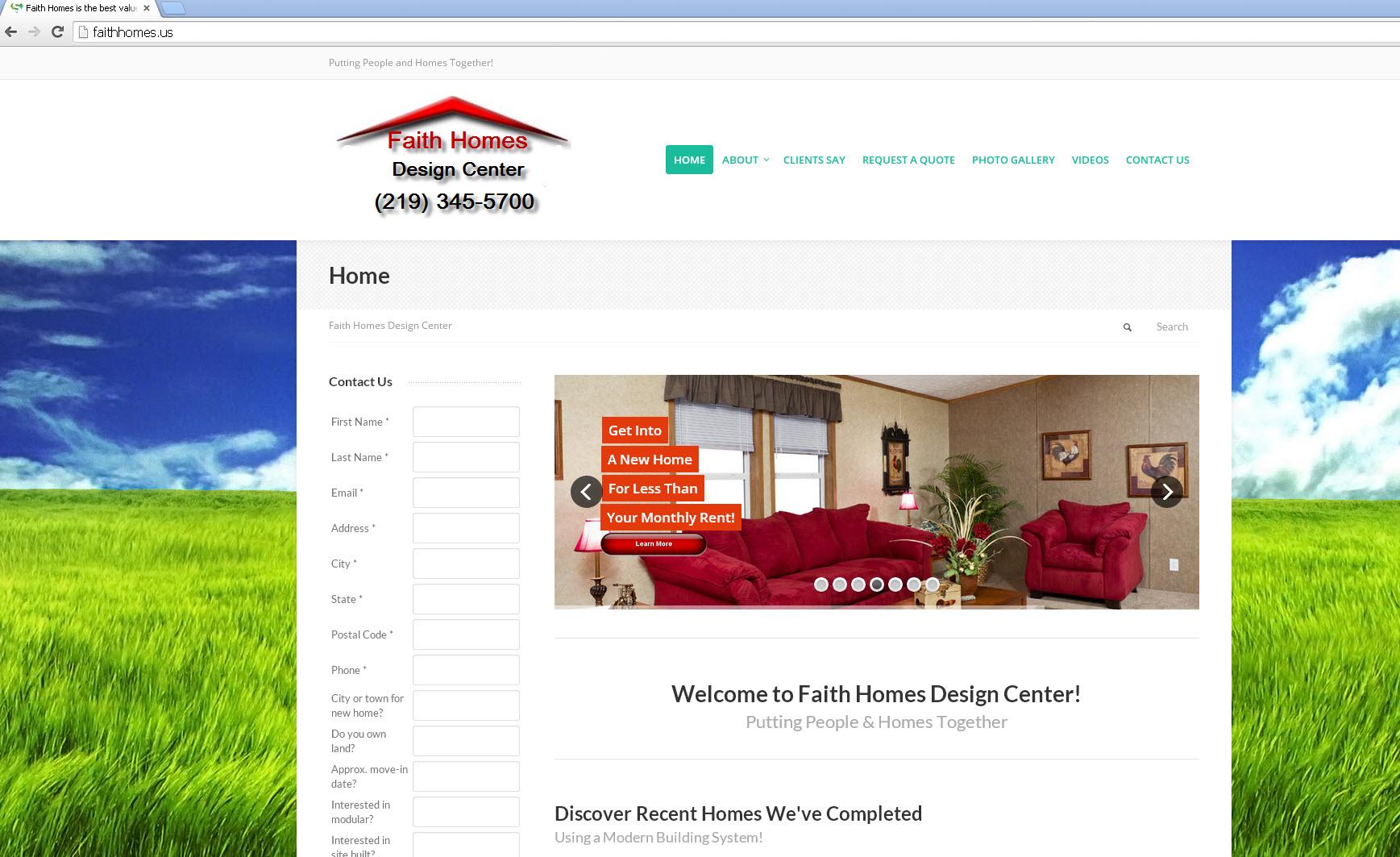 Faith Homes Design Center – beviercreative.com